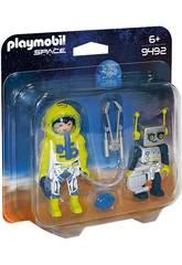 Playmobil Space Astronauta e Robot 9492