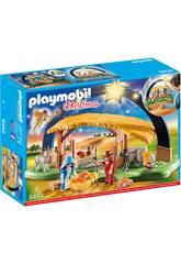 Playmobil Crêche avec Lumière 9494