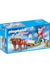 Playmobil Traîneau du Père Noël avec des rennes 9496