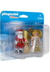 Playmobil Duo Pack Pai Natal com Anjo 9498
