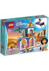 Lego Princesses Aventures dans le Palais d'Aladin et Jasmine 41161
