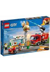 Lego City Fire Rettung vom Brand im Hamburger-Restaurant 60214