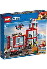 Lego City Fire Quartel dos Bombeiros 60215