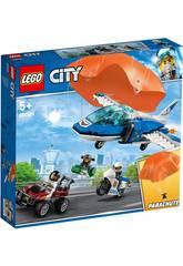 Lego City Polícia Aérea Prisão do Ladrão Páraquedista