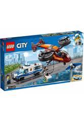 Lego City Polícia Aérea Roubo do Diamante 60209