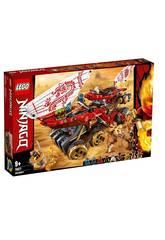 Lego Ninjago Navire de Guerre 70677