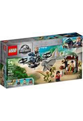 Lego Jurassic World Dilofosauro in fuga 75934