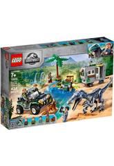 Lego Jurassic World Rencontre avec le Baryonyx La Chasse au Trésor 75935