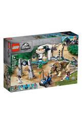 Lego Jurassic World L'assalto del Triceratopo 75937