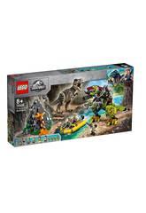 Lego Jurassic World T.Rex Vs Roboter-Dinosaurier