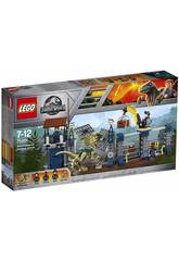 Lego Jurassic World Attacco all'avamposto del Dilofosauro 75931