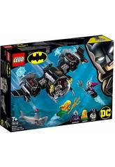 Lego Super Heroes Batsubmarino de Batman y el Combate Bajo el Agua 76116