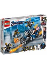 Lego Super Heroes Avengers Captain América : Attaque des Outriders 76123