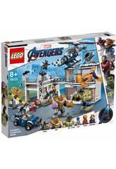 Lego Súper Héroes Avengers Batalla en el Complejo 76131