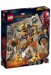 Lego Super Heroes Spiderman Far From Home Duell mit Molten Man 76128