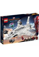 Lego Super Heroes Spiderman Far From Home Starks Jet und der Drohnenangriff 76130