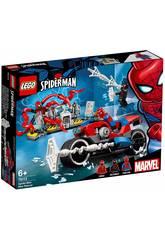Lego Super Heroes Rescate en Moto de Spiderman 76113