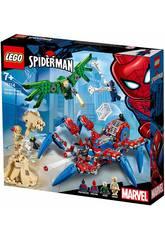 Lego Súper Héroes Araña Reptadora de Spiderman 76114