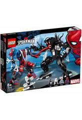 Lego Marvel Super Heroes Mech di Spider-Man vs. Venom 76115