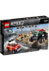 Lego Speed Champions Mini Cooper S Rally 1967 y Mini John Cooper Works Buggy 2018 75894