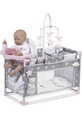 Berceau Parc table a langer pour poupées Sky De Cuevas 53124
