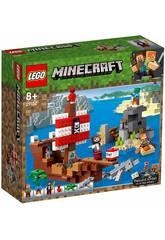 Lego Minecraft La Aventura del Barco Pirata 21152
