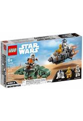 Lego Star Wars Microfighters Capsule de Sauvetage vs Dewback 75228