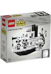 Lego Idées Mickey Mouse Le Bottier Willie 21317