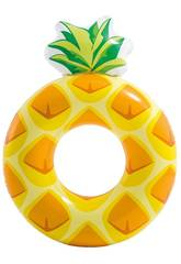 Bouée Gonflable Ananas 117 x 86 cm Intex 56266