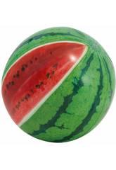 Ballon Gonflable Design Réaliste Pastèque 107 cm Intex 58075