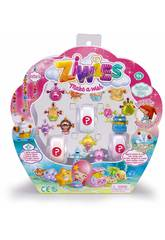 Ziwies Pack 16 Figurinhas Famosa 700014603