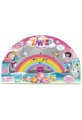 Ziwies Regenbogen mit 5 Figuren Famosa 700014800