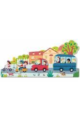 Puzzle XXL Fahrzeuge Goula 453428