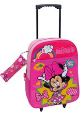 Sac à Dos Trolley Minnie avec Trousse Toybags T910-073