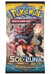 Pokémon Jeu de Cartes à Collectionner Soleil et Lune Envelope 10 cartes Asmodee POSMSL02