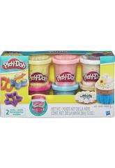 Play-doh Coriandoli Pack 6 BarattoliHasbro B3423EU6
