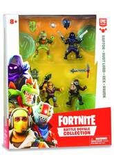 Fortnite Pack 4 Figurines 5 cm. Édition Limitée Giochi Preziosi FRT14000