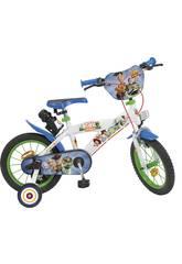 Vélo de 16 Pouces Toy Story 4 Toimsa 786