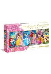 Puzzle Panorama 1000 Princesses Disney Clementoni 39444