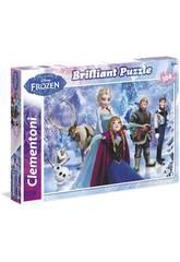 Puzzle 104 Frozen Brilliant Clementoni 20127