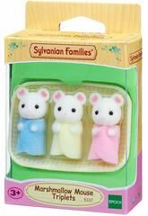 Set Drillinge Babymäuse Marshmallow von Sylvanian Families 5337