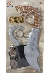 Espada Pirata con Accesorios 6 piezas