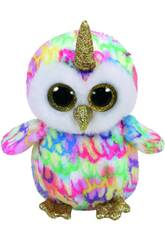 Peluche Owl with horn 15 cm. Enchanted TY 36253TY
