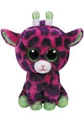 Peluche Girafe Rose 15 cm. Gilbert TY 37220TY