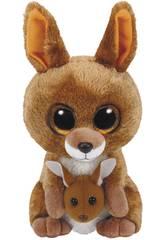 Peluche Brown Kangar 15 cm. Kipper TY 37226TY