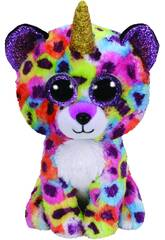 Peluche Leopardo Multicolor 15 cm. Giselle TY 36284TY