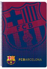Bloc-notes à Couverture Reliée 80 Feuilles. FCB Safta 511825066