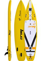 Planche de Padelsurf Gonflable Zray Fury 11'6 350x81 cm. Poolstar PB-ZF4