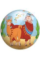 Balón Llama 23 cm. Smoby 50324