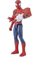 Spiderman 30 cm. Con Cañón Power FX Hasbro E3552